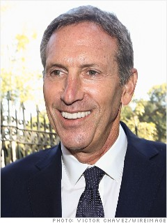 best advice howard schultz