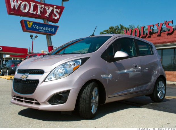 gallery minicar colors chevrolet spark