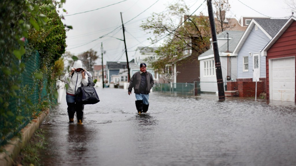 hurricane sandy flood houses