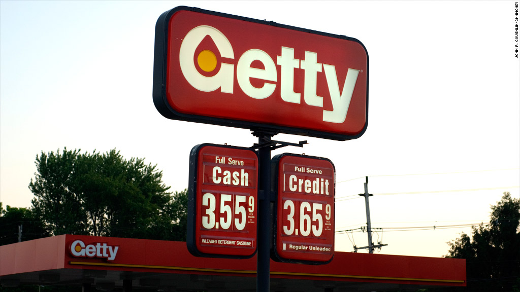 Getty Gas prices New Jersey