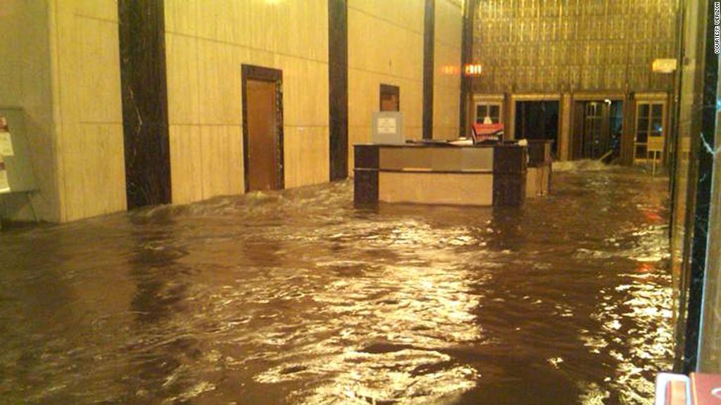 verizon office hurricane sandy