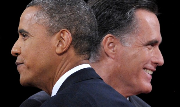 obama and romney tax divide