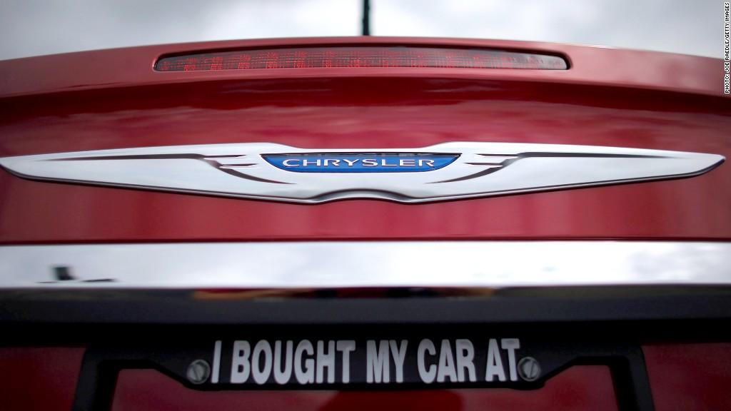 auto sales chrysler