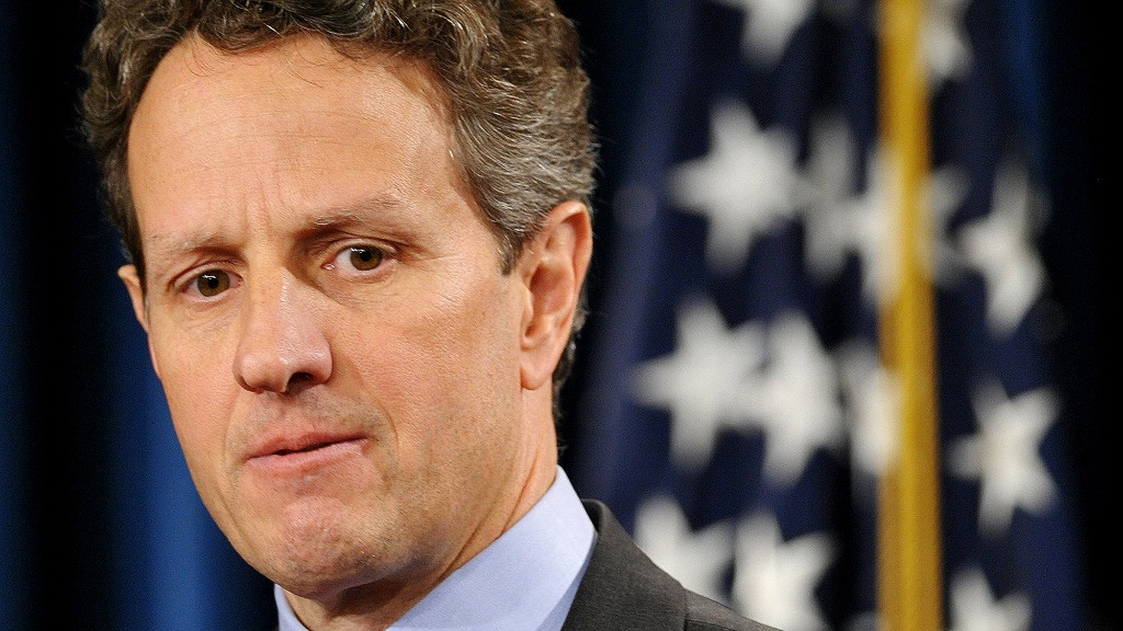 tim geithner treasury secretary