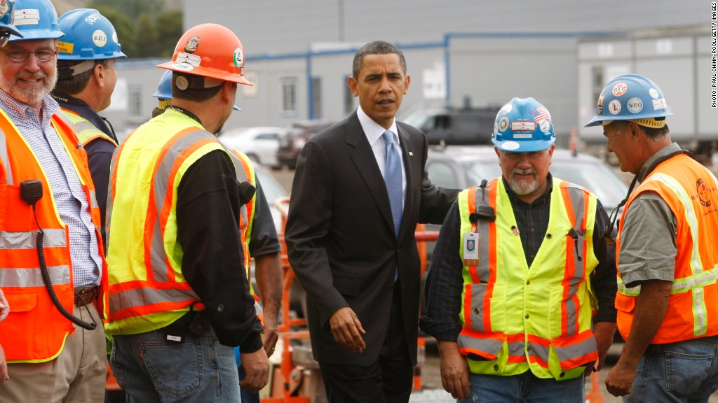 obama construction workers