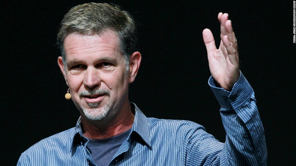 reed hastings netflix icahn
