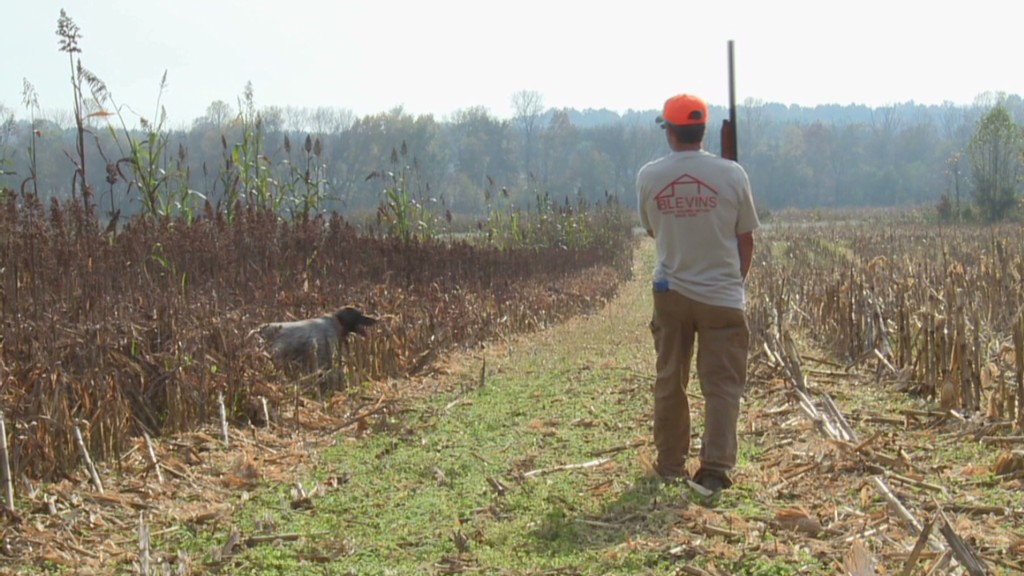 Tobacco farm struggles, turns into gun park