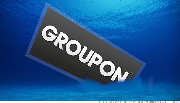 groupon underwater
