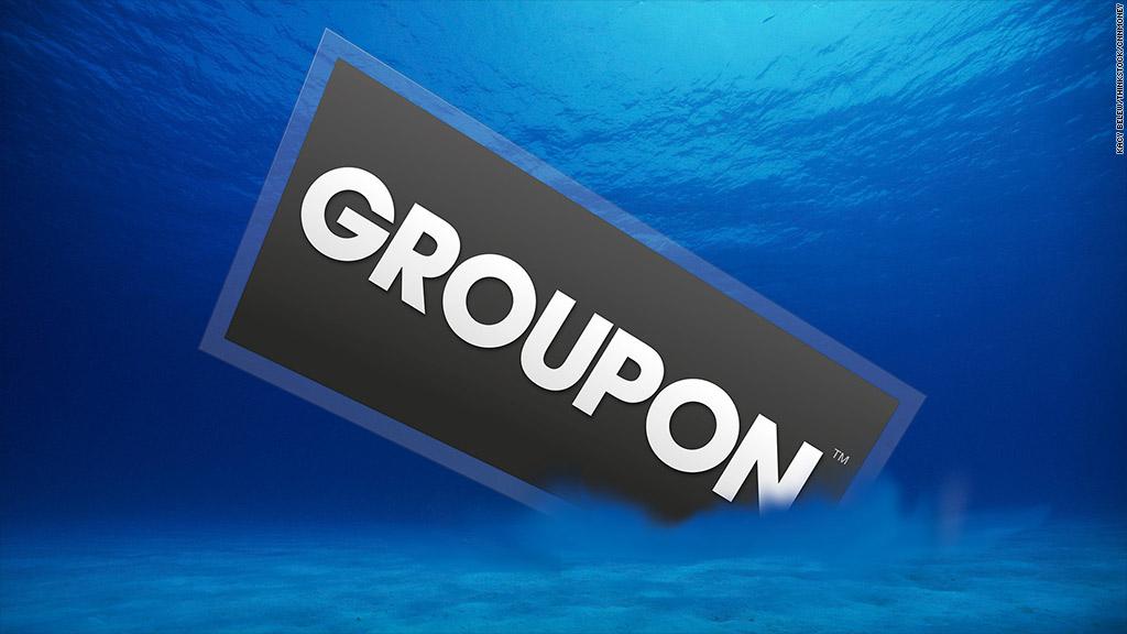 groupon underwater