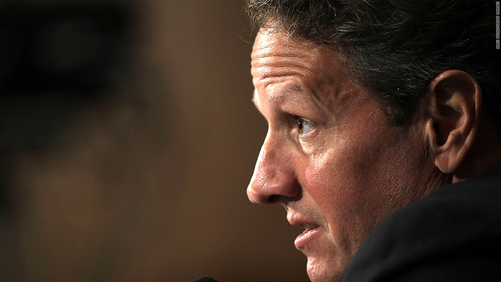 timothy geithner fiscal cliff