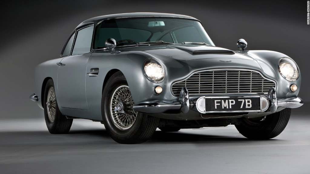 gallery hagertys bond cars aston martin db5