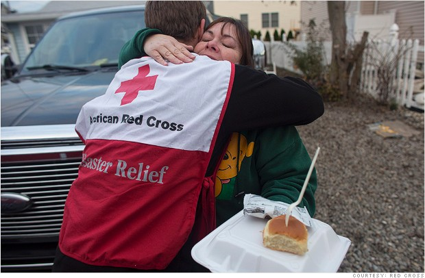 red cross meals relief