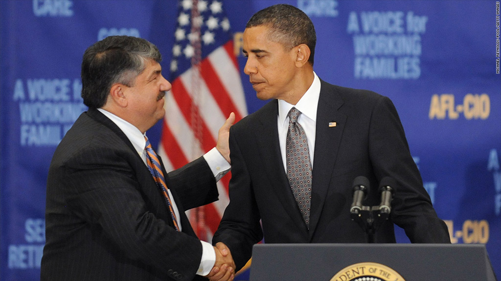 richard trumka obama