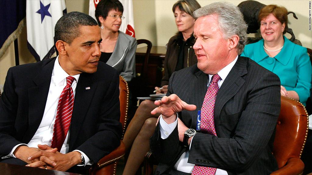 obama and immelt