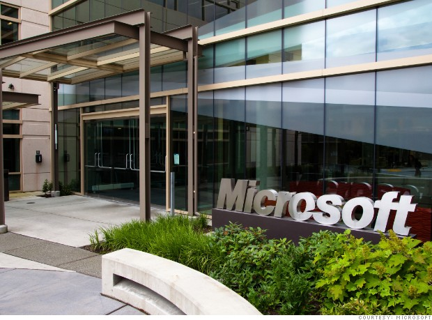 best global companies microsoft