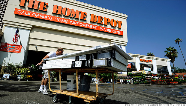 home depot earnings