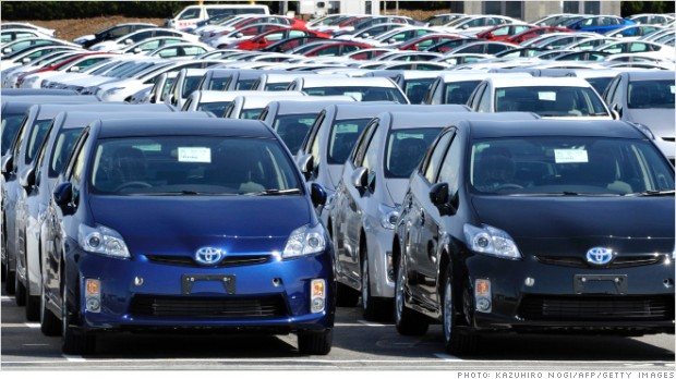 Toyota Recalls Another Million Cars Nov 14 2012