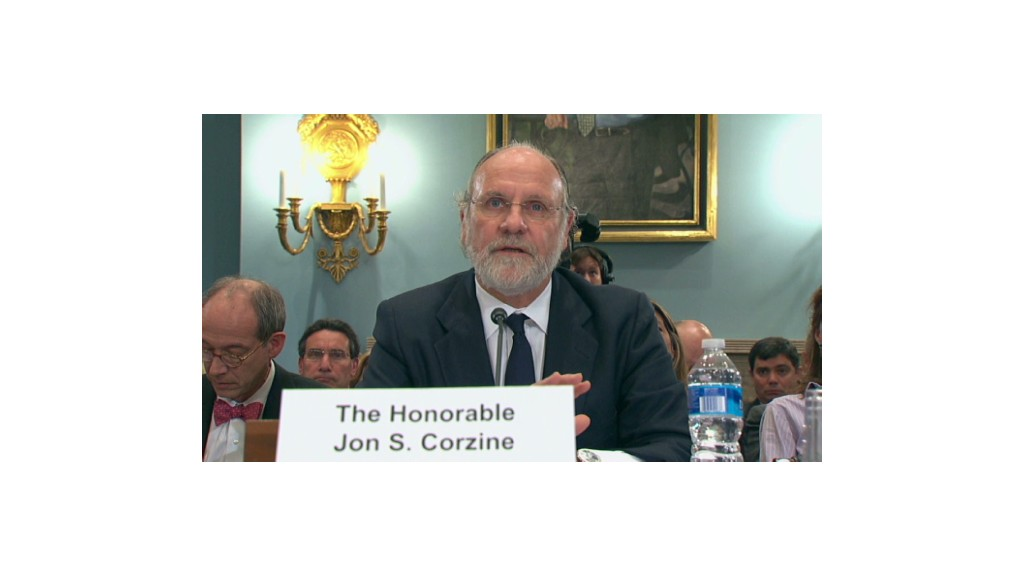 Corzine: MF Global's chaotic last days
