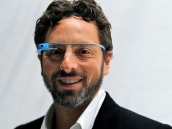 google project glass sergey brin