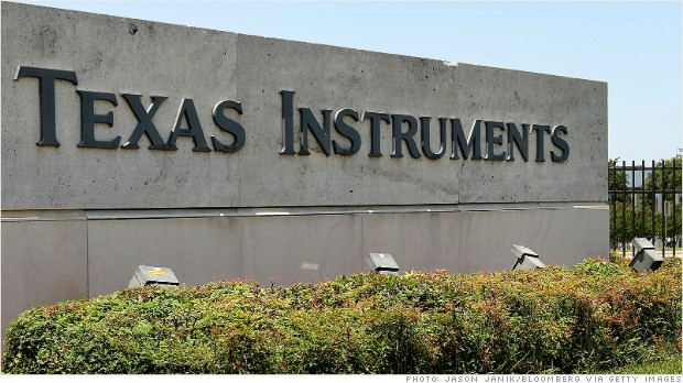 Texas instruments employee stock options