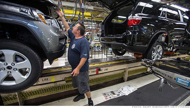 Chrysler assembly plant jobs