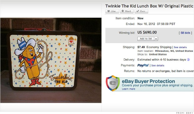 ebay twinkie lunchbox