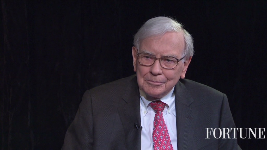 Why Buffett is giving away his money
