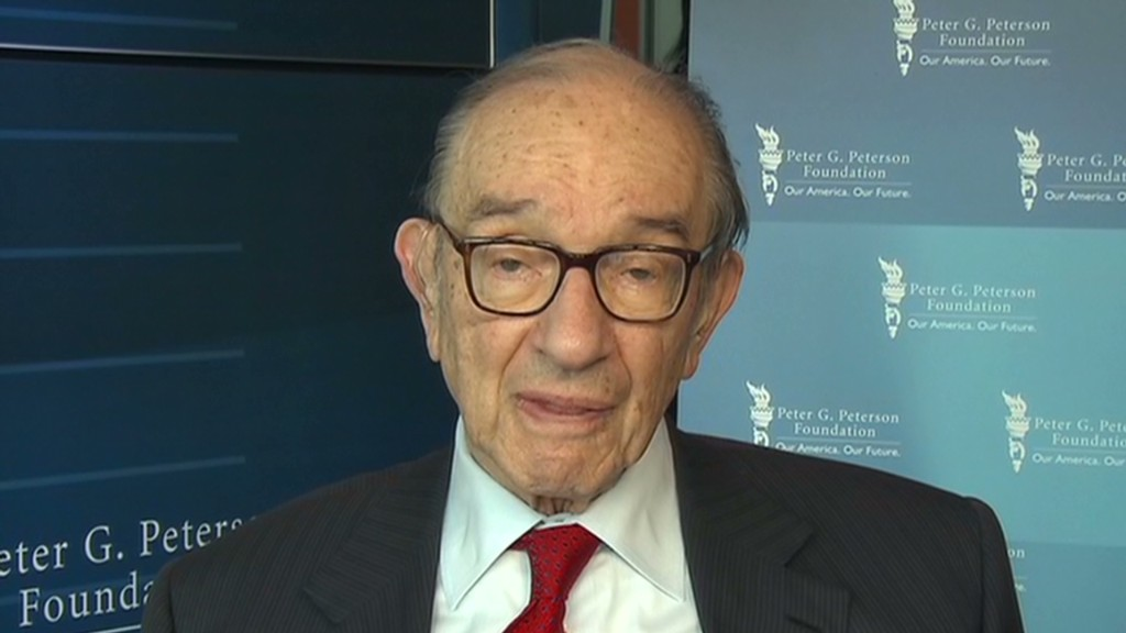 Greenspan: Repeal the debt ceiling