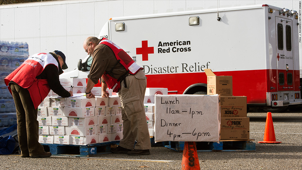 red cross disaster relief