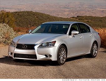 luxury car lexus gs350 best resale value cars cnnmoney. Black Bedroom Furniture Sets. Home Design Ideas