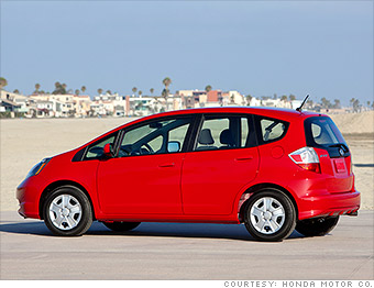 subcompact car honda fit best resale value cars cnnmoney. Black Bedroom Furniture Sets. Home Design Ideas