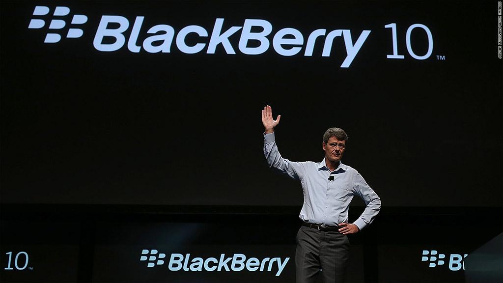 RIM stock jumps on BlackBerry 10 hopes