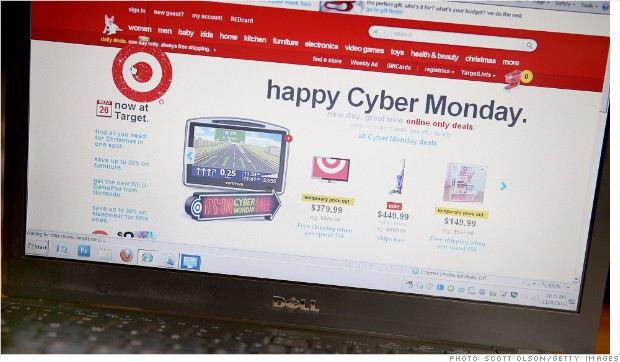 target cyber monday