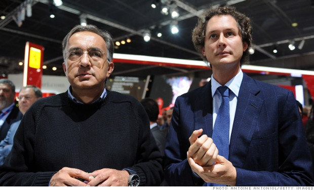 fiat sergio marchionne john elkann