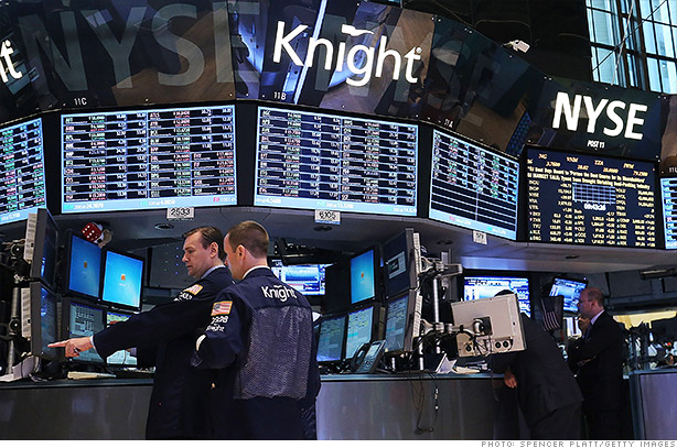 knight capital stock trading disruption