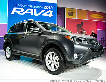 Toyota Rav4  Cool cars from the Los Angeles Auto Show  CNNMoney