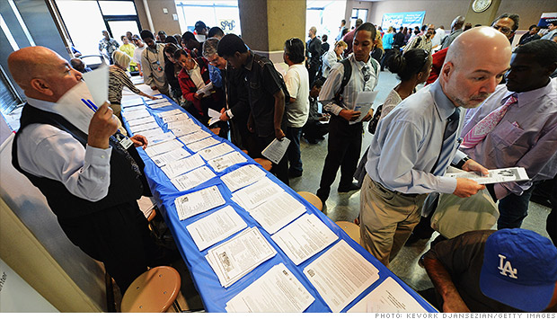 unemployment job fair