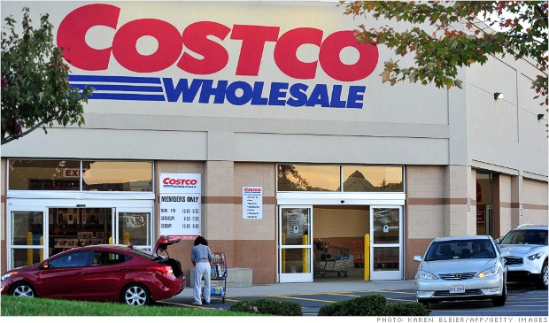 costco sales dividend