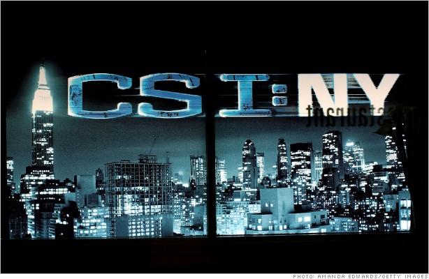 Goldman Sachs ( GS ) has been part of the crime scene -- CBS' CSI