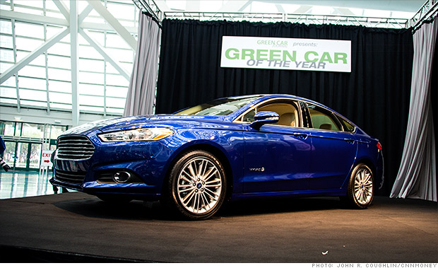 green car of the year ford fusion