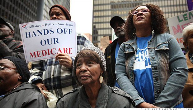 medicare protest
