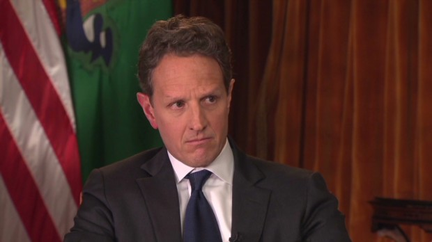 Geithner: 'Far apart' on fiscal cliff