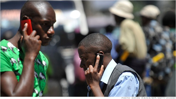 africa economy cell phones
