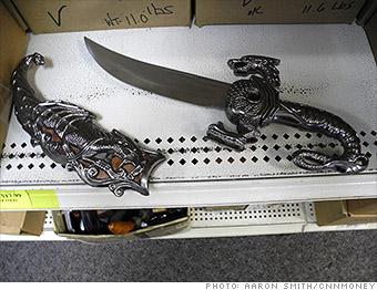 gallery tsa weapons knives