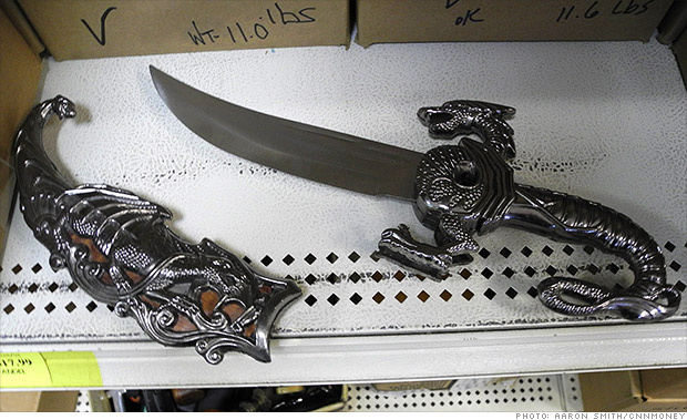 gallery tsa weapons knives