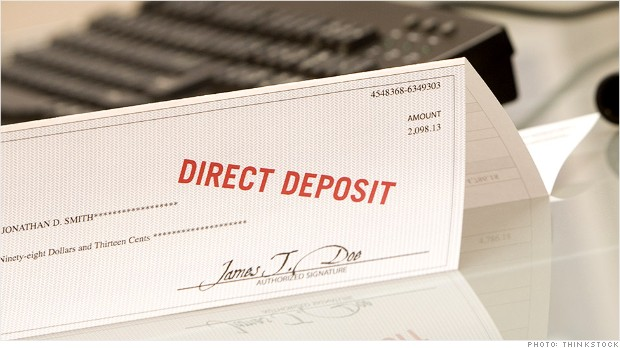 paycheck deposit