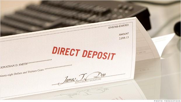 paycheck deposit