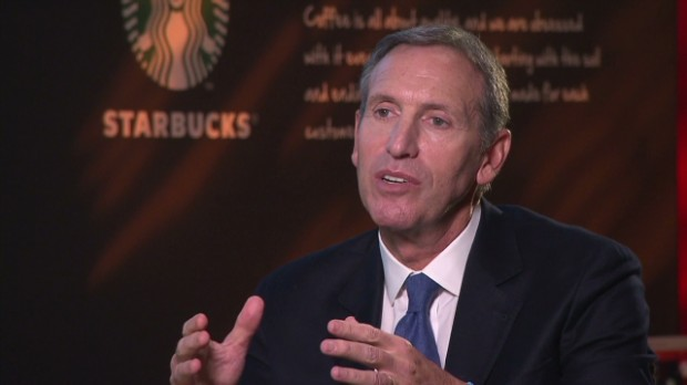 Starbucks makes political push on fiscal cliff