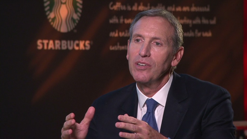 Starbucks CEO: Fiscal cliff is 'seismic'