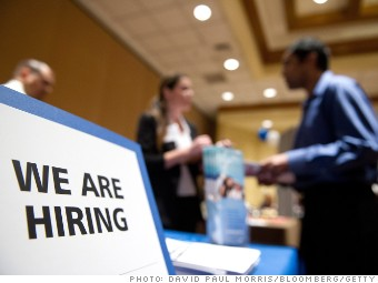jobs report unemployment hiring